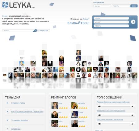 Сервис микроблогов Leyka.net дарит пользователям новый опыт общения