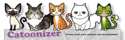 Catoonizer - веб-конструктор для создания котов и кошек