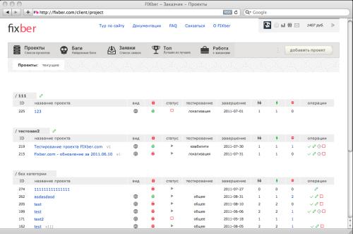 Fixber — площадка услуг по тестированию сайтов