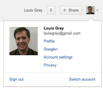 Google начал переход на новую панель