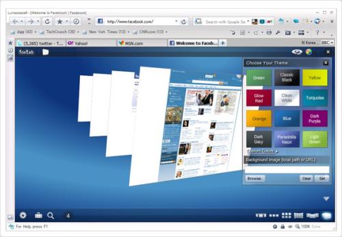 Вышла новая версия браузера Lunascape. Lunascape 6.57