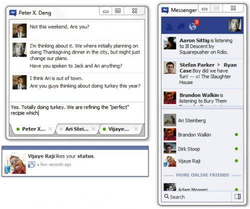 Facebook тестирует Windows-клиент для чата и ленты