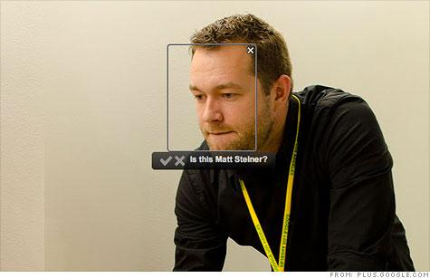 Google+ ввел функцию распознавания лиц на загруженных фотографиях