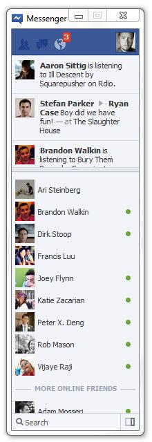IM клиент от Facebook под Windows теперь доступен всем