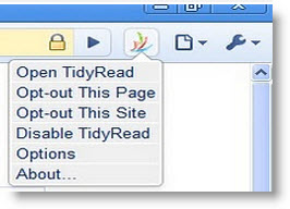 Расширение TidyRead освободит веб-страницы от рекламы