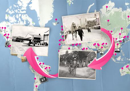 HistoryPin – исторические фотографии на карте