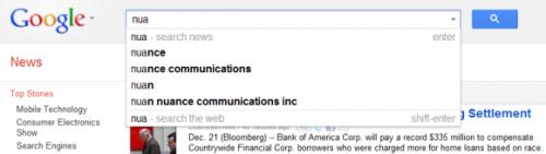 В сервисе Google News новая оригинальная поисковая форма