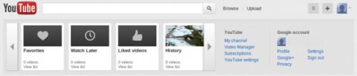 YouTube тестирует интеграцию с Google+