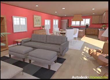 ���-������ Autodesk Homestyler �������� �� ������� �����