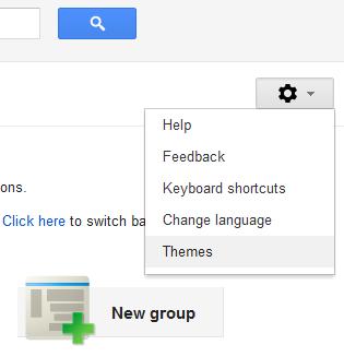 В Google Groups появились темы оформления