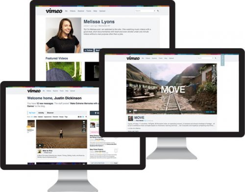 Видеослужба Vimeo — существенно обновила дизайн и добавила новые возможности