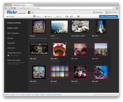 Flickr получит сразу несколько обновлений в течение пары месяцев