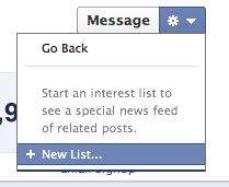 Facebook тестирует новую функцию — Interest Lists
