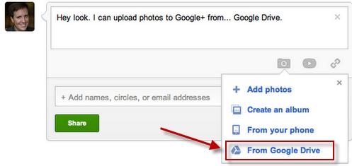 Google Drive ������������ � Google+