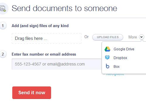 Приложение HelloFax позволяет бесплатно отправлять факс и подписывать документы