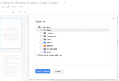 Управлять документами вGoogle Docs стало легче