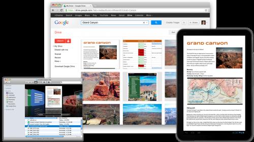 Состоялся долгожданный запуск сервиса Google Drive