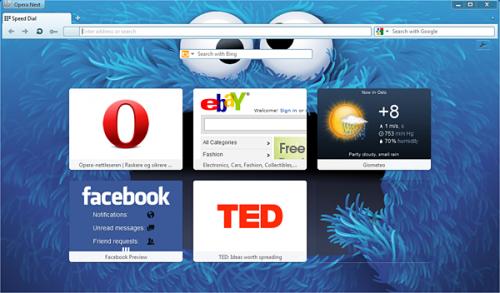 Хотите попробовать новую Opera 12 beta ?