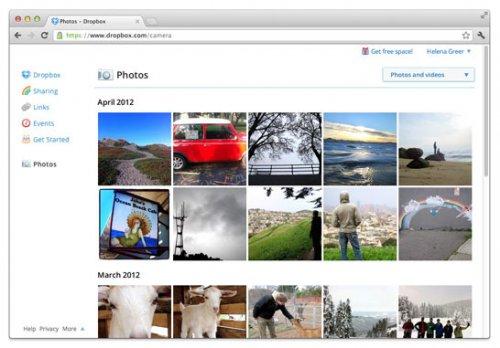 Теперь и в стабильной версии Dropbox работает автоматическая синхронизация фото и видео через ПК