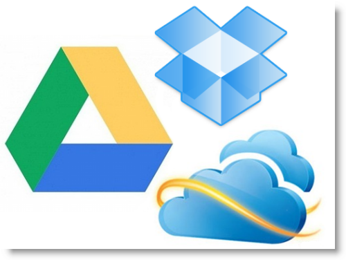 Сравнение сервисов облачных хранилищ SkyDrive, Google Drive и Dropbox