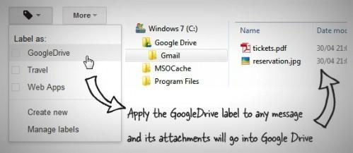 Как добавить любое вложение из Gmail в Google Drive