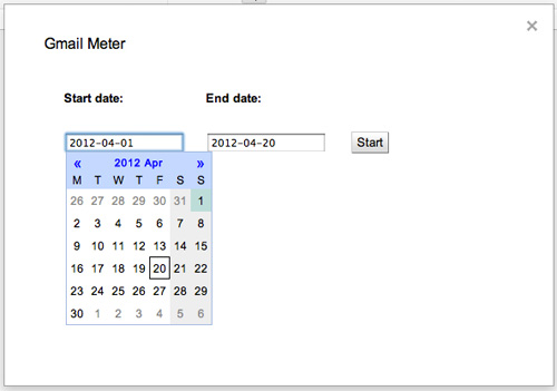 Как проверить свою Gmail статистику с помощью Gmail Meter