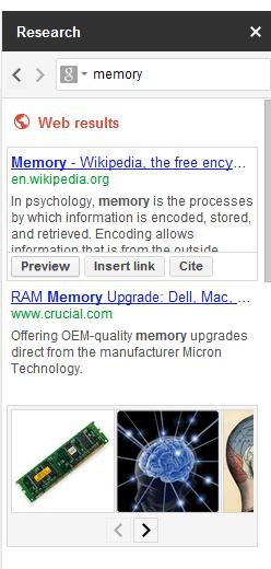 Расширенный поиск в Google Docs