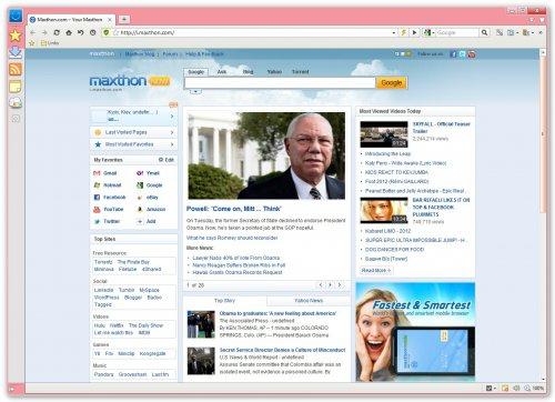 Подробный обзор браузера Maxthon