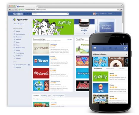 Состоялся запуск магазина приложений Facebook