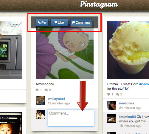 Pinstagram — Просматриваем Instagram в стиле Pinterest