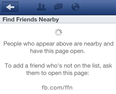 Функцию поиска друзей поблизости удалили из Facebook