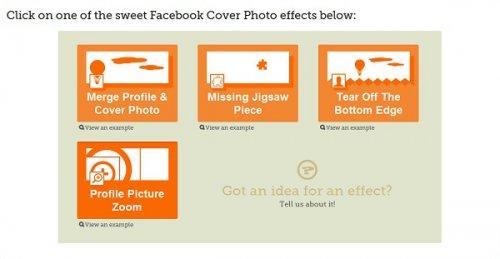 Совмещаем картинку профиля с обложкой в Facebook Timeline