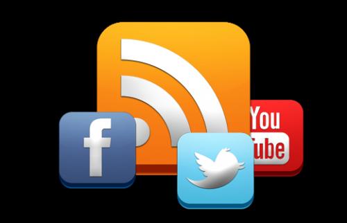 Каталог RSS потоков для популярных социальных сервисов
