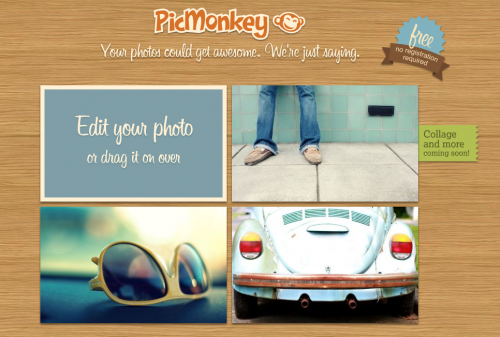 PicMonkey — быстрый и функциональный онлайновый фоторедактор