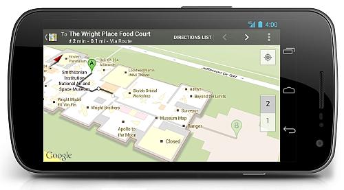 Навигация от Google проникает внутрь крупнейших зданий мира