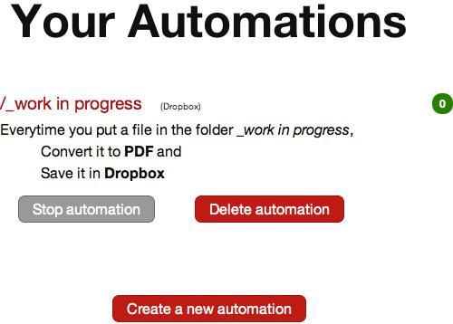 Как автоматизировать действия с файлами в Dropbox