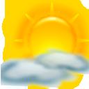 Блок погоды в Поиске для планшетов