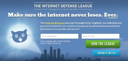 Вступаем в «Лигу защиты Интернета»