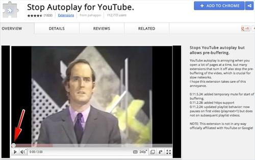 Как отключить автоматическое воспроизведение видео на YouTube