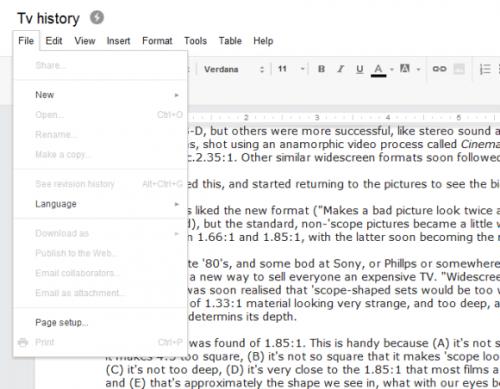 Офлайн-редактирование возвращается в Документы
