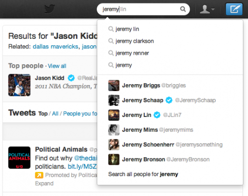 Twitter улучшил свой поисковый движок