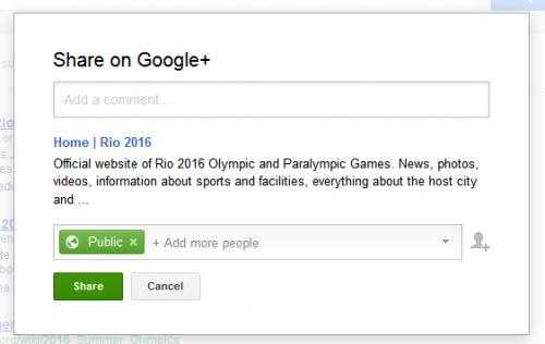 Google тестирует возможность делиться результатами поиска