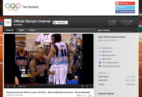 5 веб-сайтов для онлайн просмотра Олимпийских игр 2012