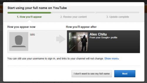 Переключаемся на настоящее имя в YouTube