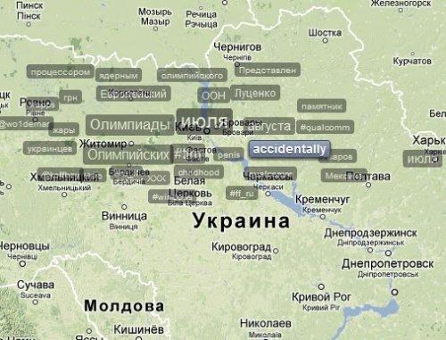 Как смотреть популярные темы Twitter на карте мира