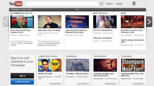 Карусель — эксперимент в YouTube