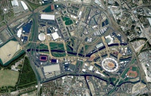 Карты Google получили высококачественные фотографии олимпийской деревни
