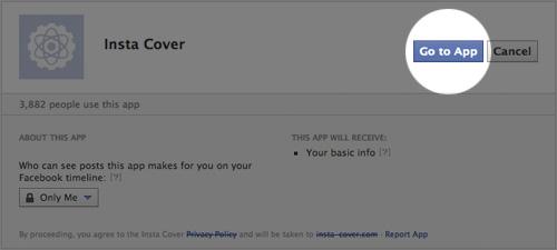 Как на обложку в Facebook поместить Instagram-фотографии