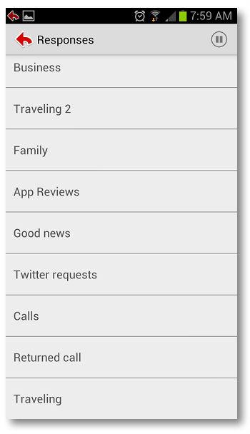 Как пользоваться заготовленными сообщениями (Canned Responses) на Android