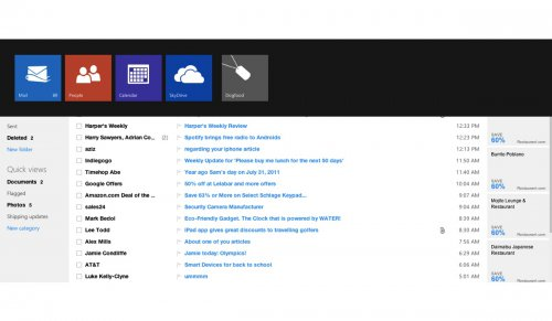 Microsoft запустил новый почтовый сервис: Outlook.com